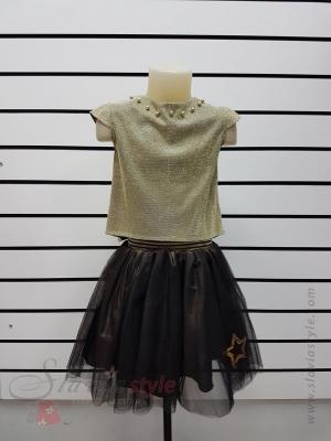 комплект блузка и юбка