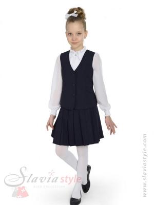 комплект жилет и юбка