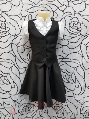 комплект жилет,юбка