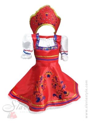 Русская красавица - шелк