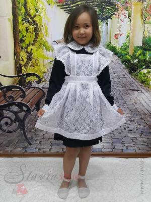 школьное платье и фартук